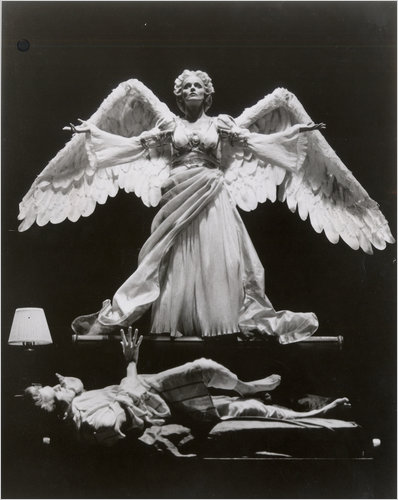 Ellen McLaughlin as The Angel in Kushner's ANGELS IN AMERICA.
